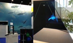 Holographic Pyramide for Animations And More