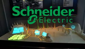 Schneider Electric Projection Mapping